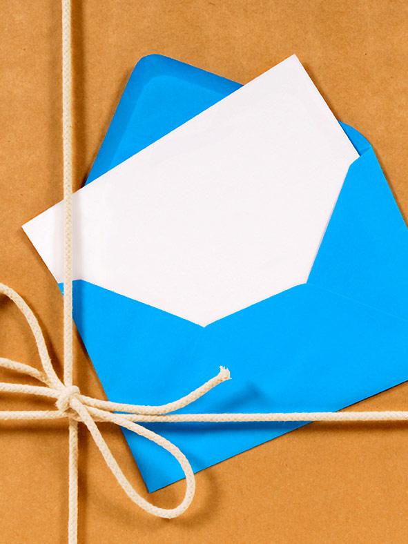 עיטוף במעטפות נייר